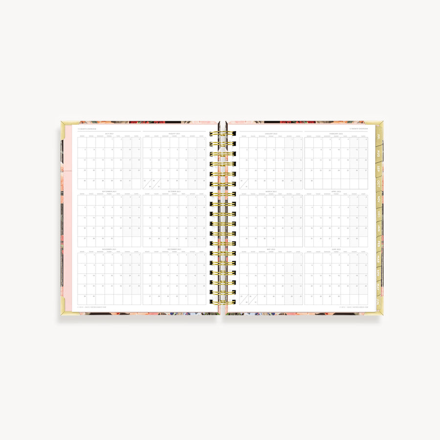 Academic Year 2021-2022 Weekly Planner