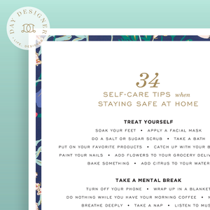 34 Self-Care Tips When Staying Safe at Home