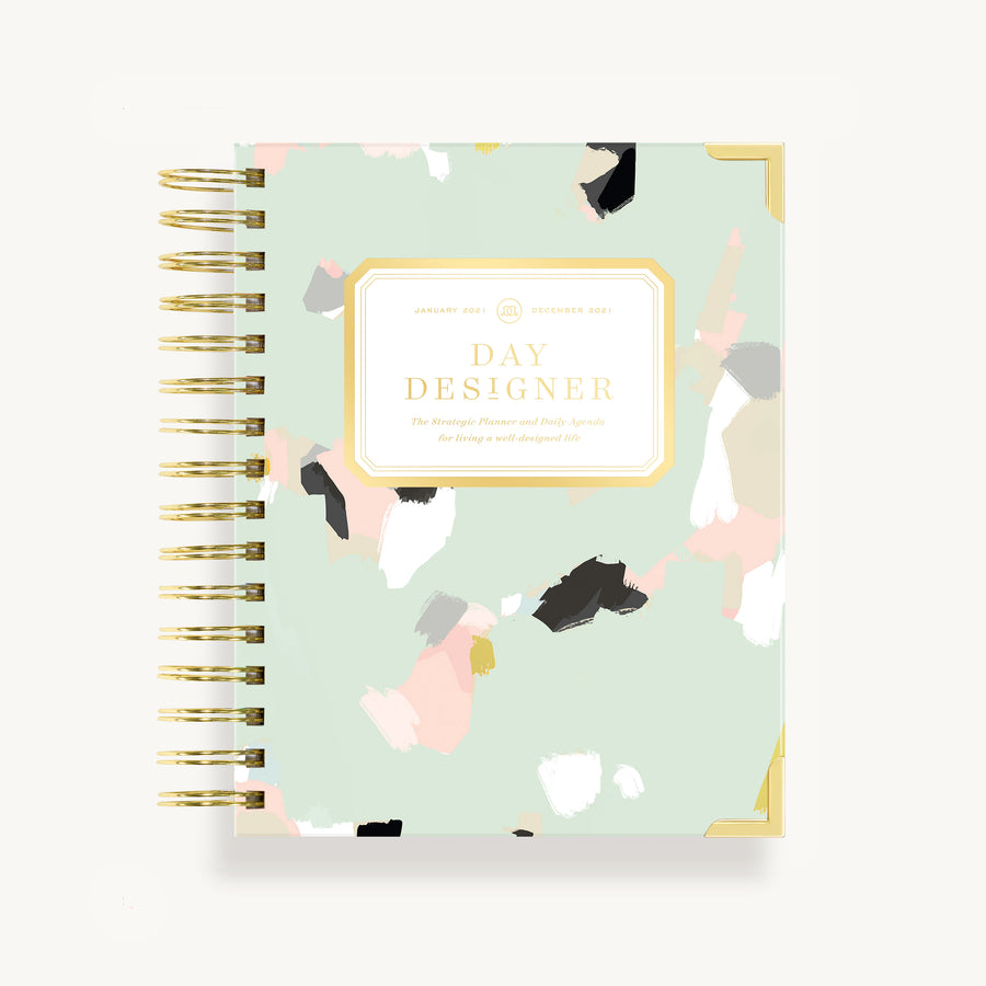 2021 Mini Daily Planner: Artfully Abstract