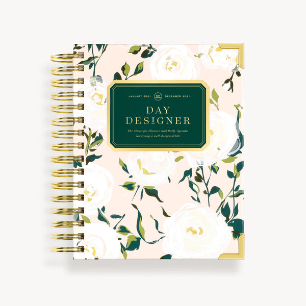 2021 Mini Daily Planner: Coming Up Roses
