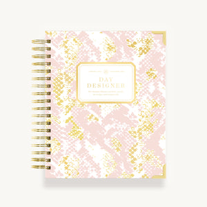 2021 Daily Planner:  Pink Python
