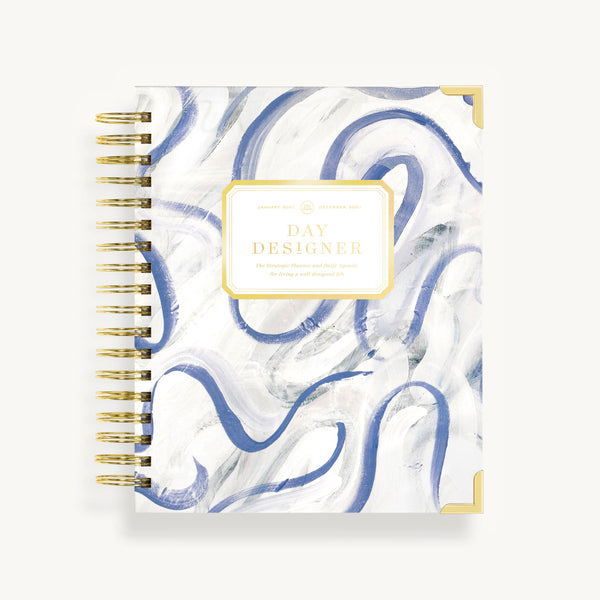 2021 Daily Planner: Painted Ribbon