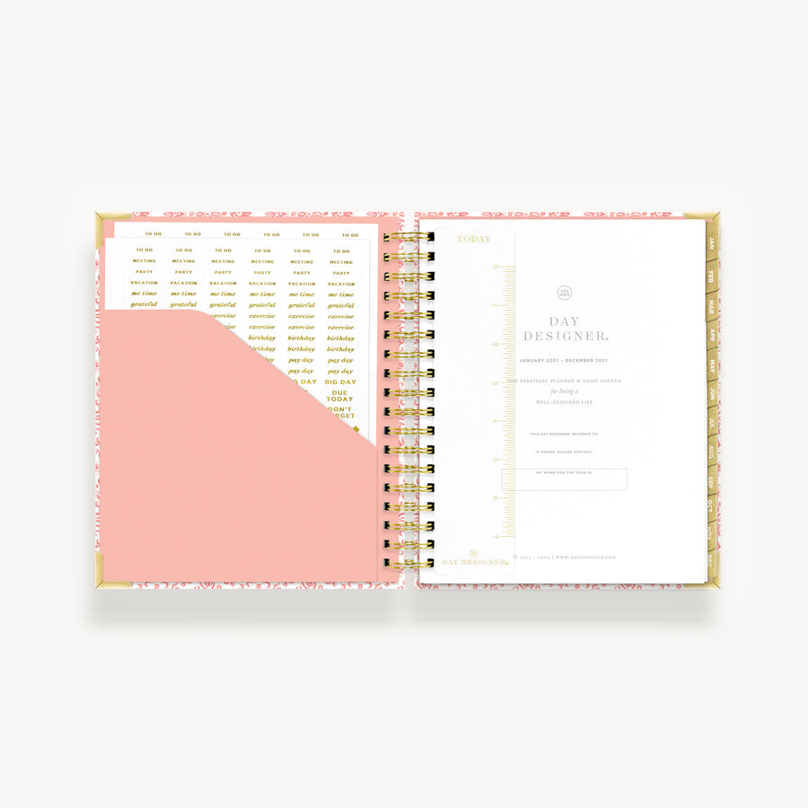 2021 Daily Planner: Serenity Tile