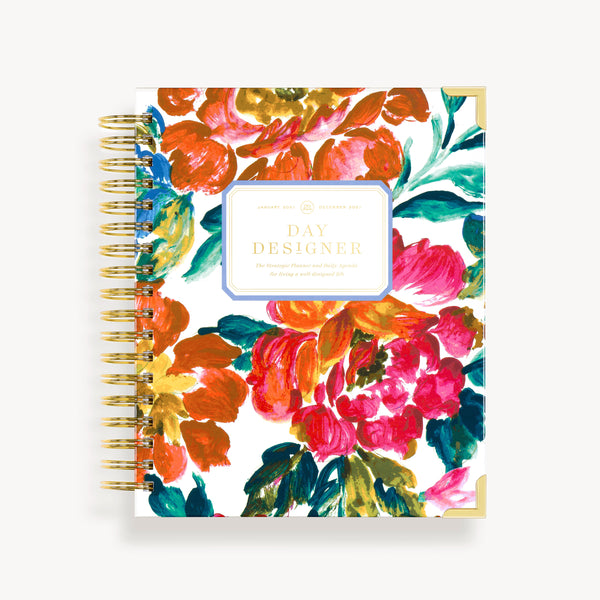 2021 Daily Planner: Vintage Floral