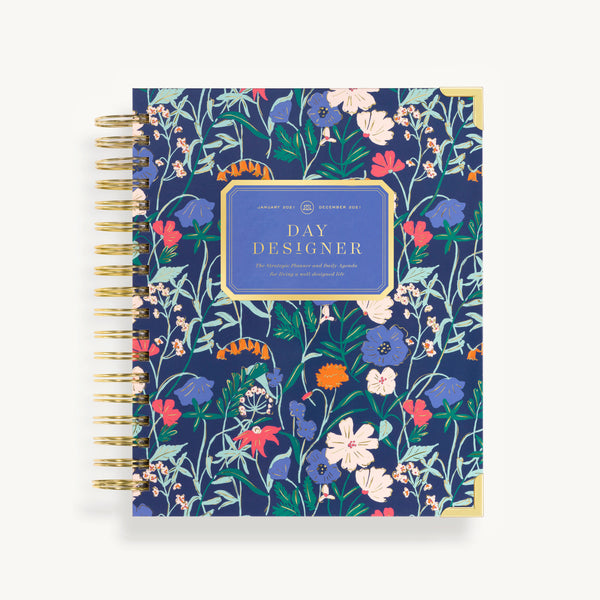 2021 Daily Planner: Wildflowers