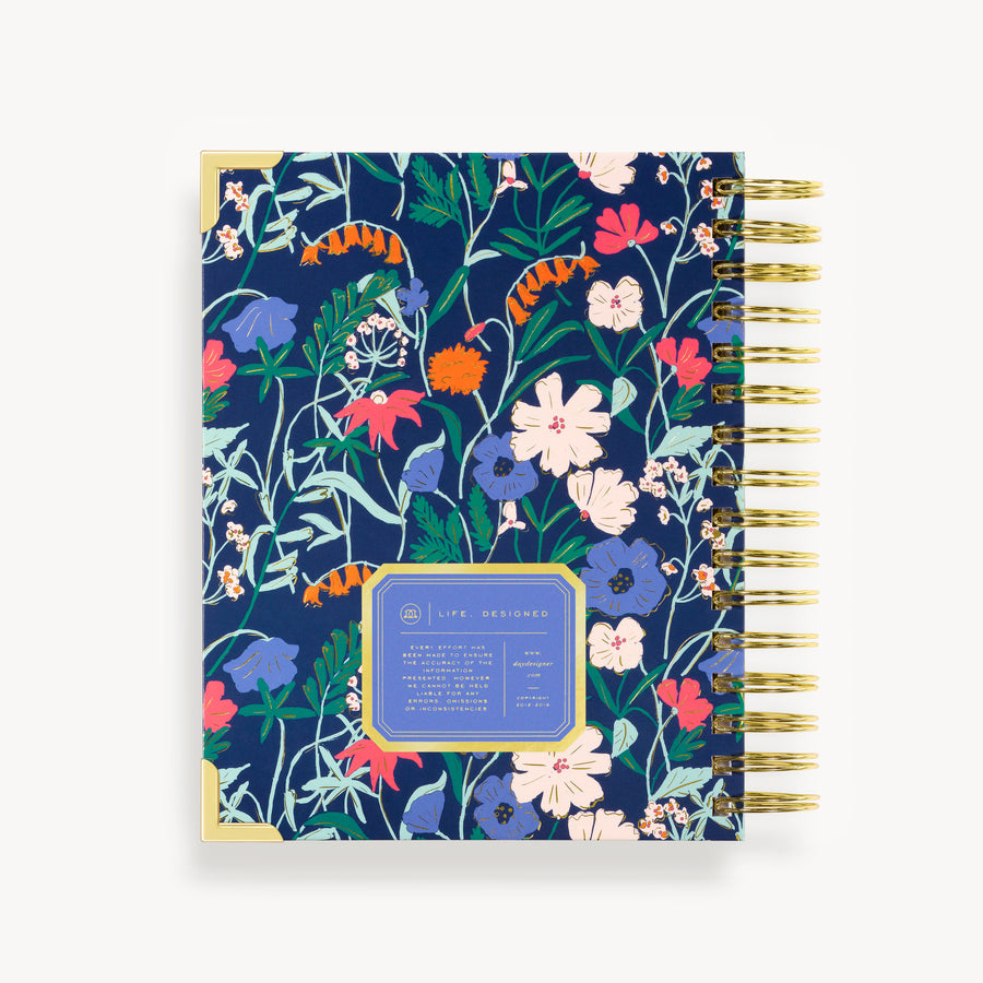 2021 Mini Daily Planner: Wildflowers