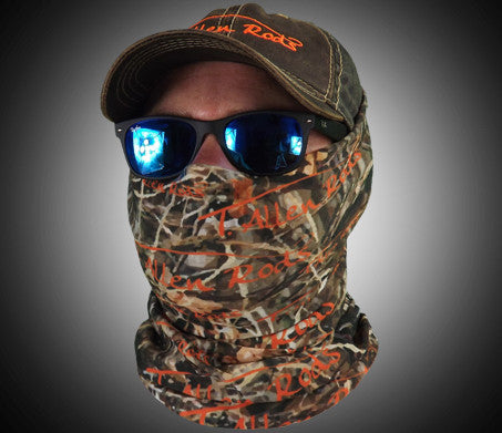 Camo face shield