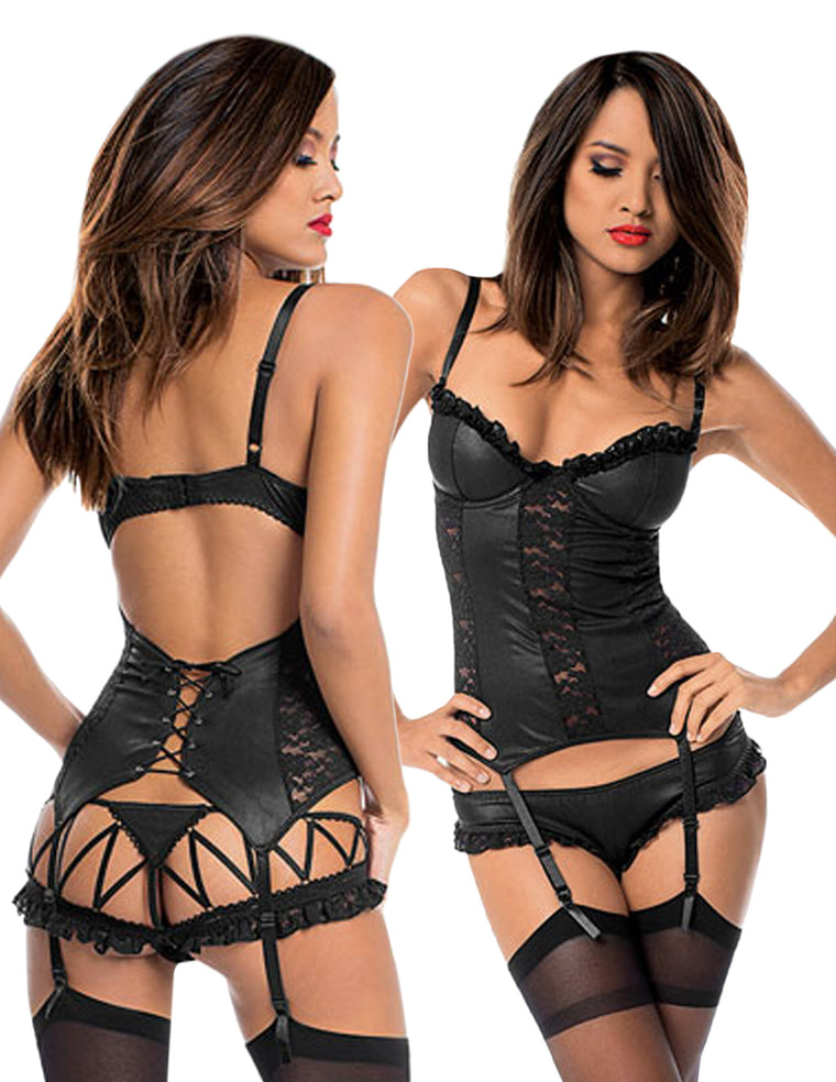 Fetish Fantasy Bustier Set