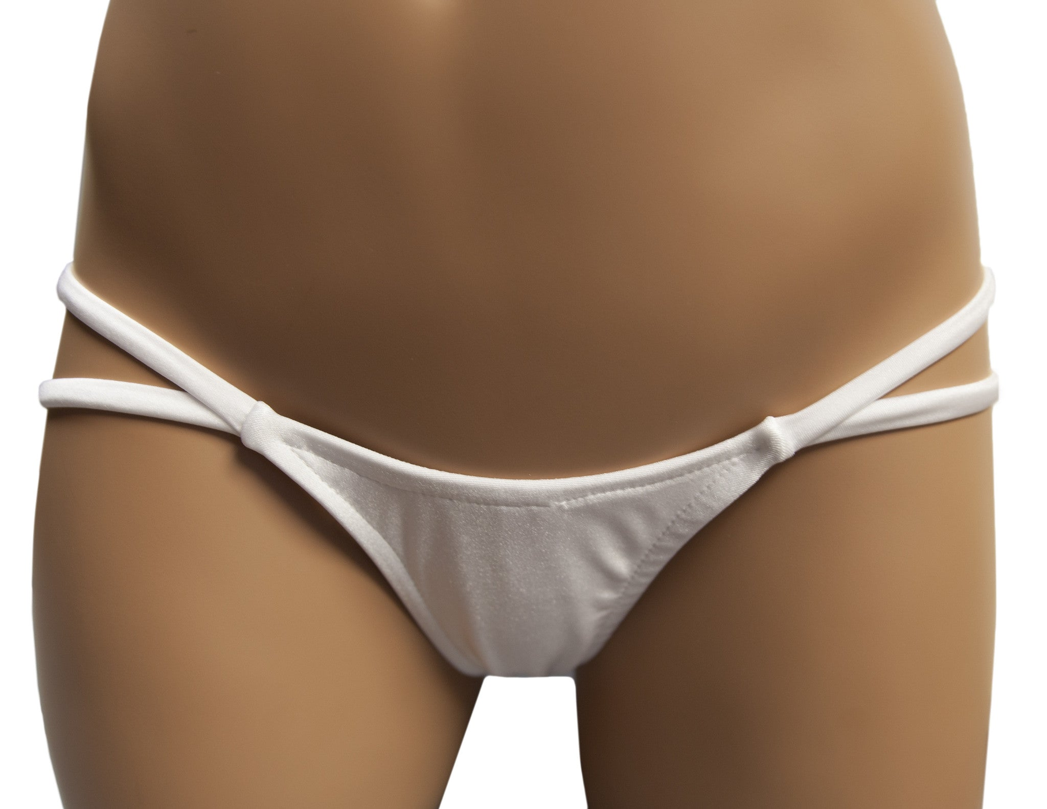 Double Strap Thong with V-Back