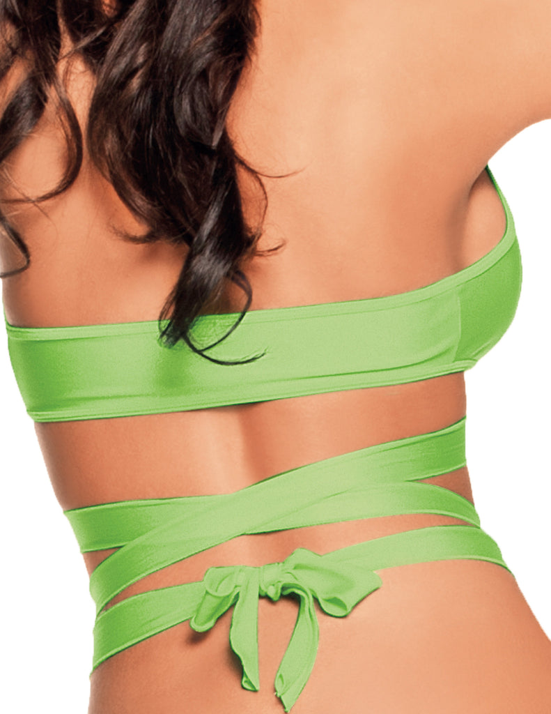 Multiple Way Halter Top Neon Lime
