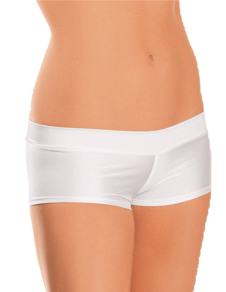 Boy Shorts White