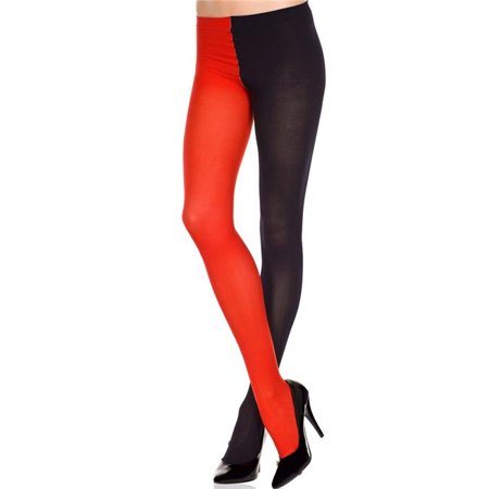 Colored Jester Costume Tights