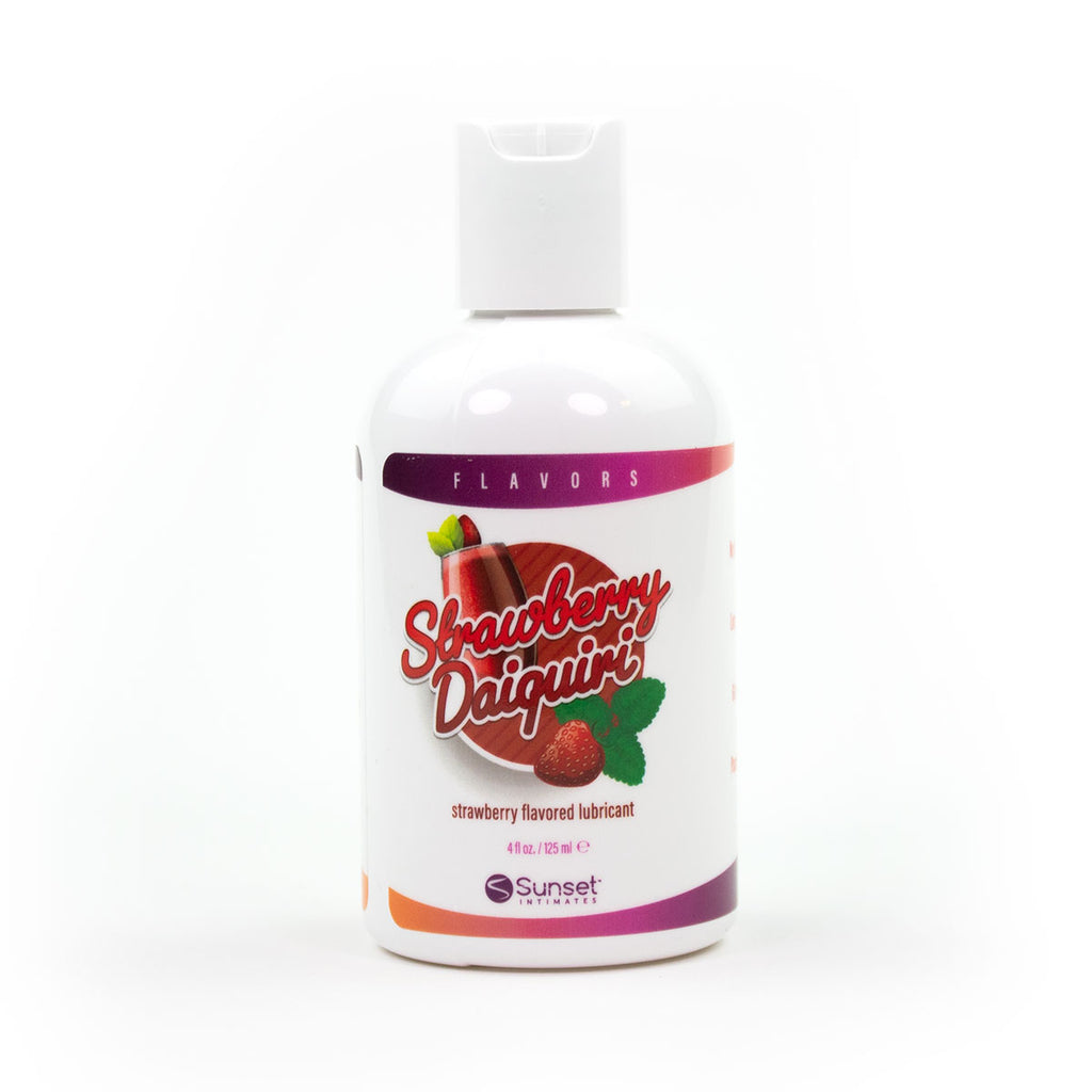 Succulent Strawberry Daiquiri Water Based Lube 4oz.