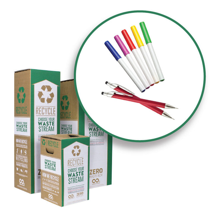 Pens, Pencils and Markers - Zero Waste Box™