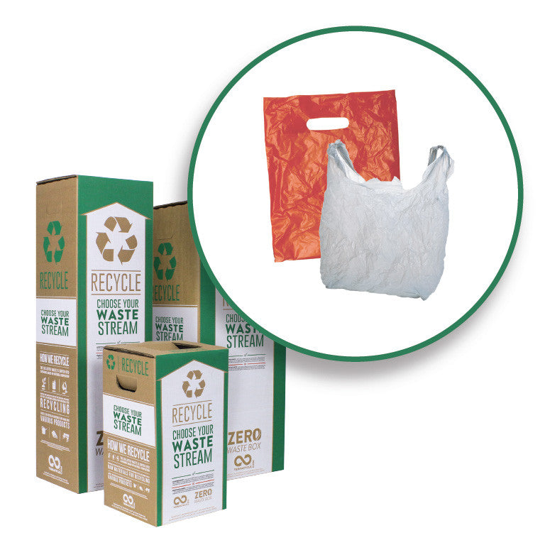 Plastic Grocery and Shopping Bags - Zero Waste Boxes