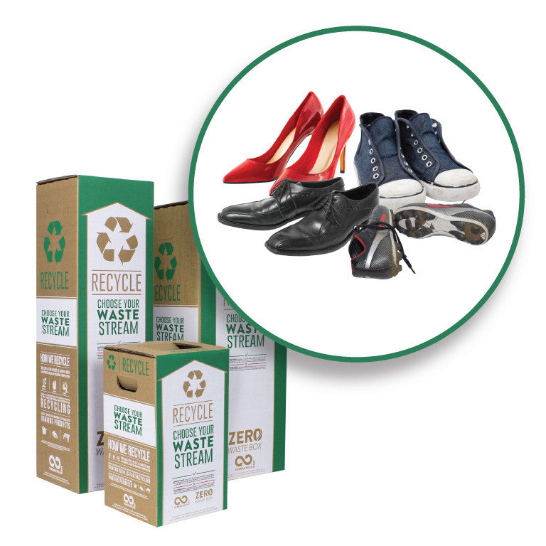Shoes and Footwear - Zero Waste Box™