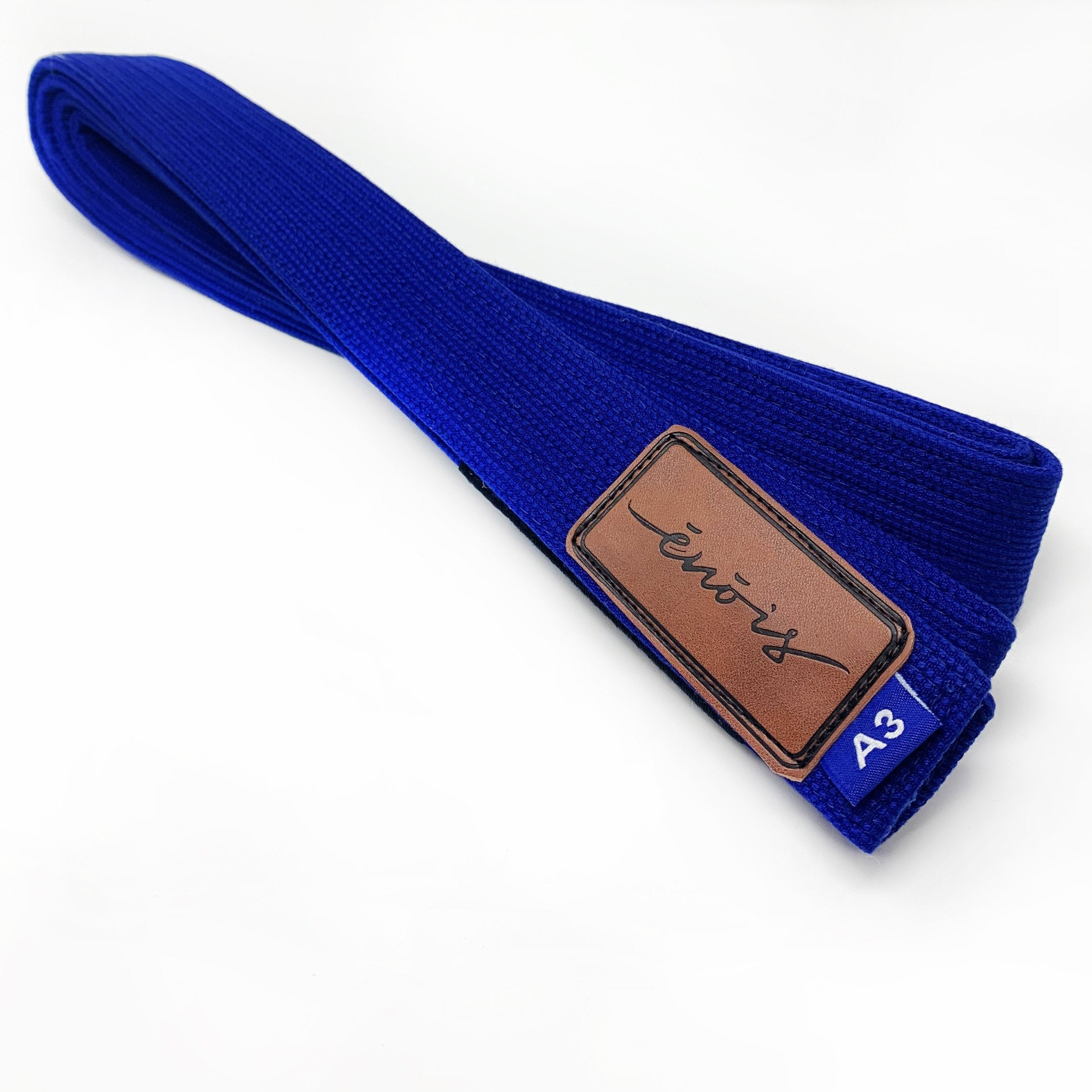 BJJ Belts With Genuine Leather Patch