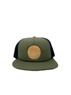 Embroidered Floating Hat | Green
