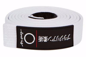 Premium BJJ Belts With Custom Silicone Pressed Patch