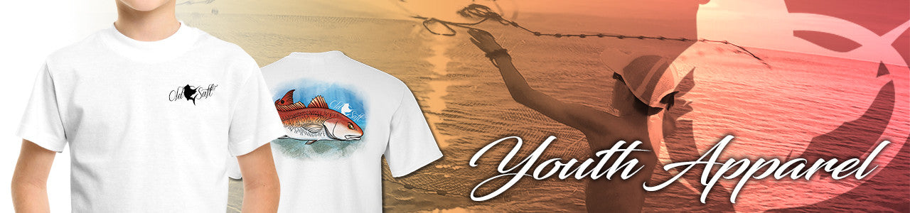 purchase youth apparel at the old salt store