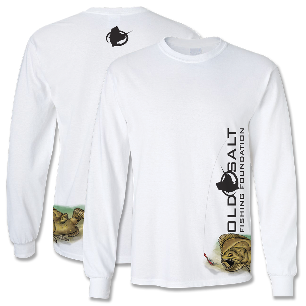 Bucktail Flounder - Cotton Long Sleeve