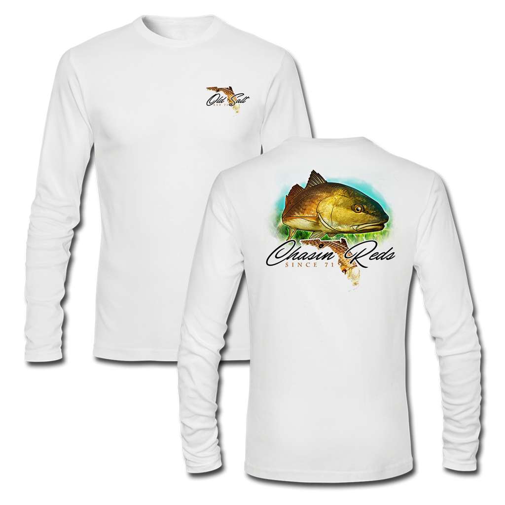 Chasin' Reds - Performance Long Sleeve Shirt