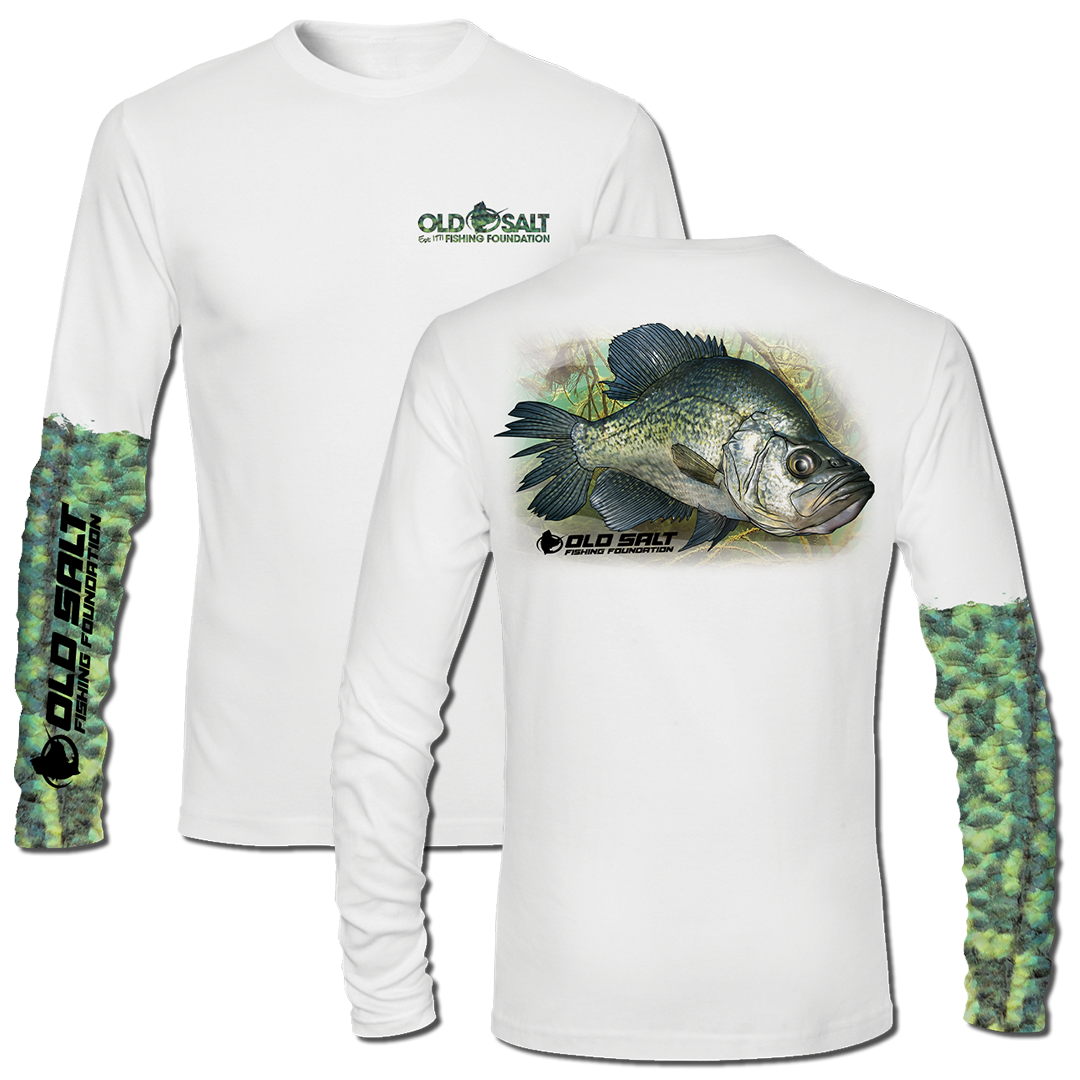 Crappie Long Sleeve Performance Shirt