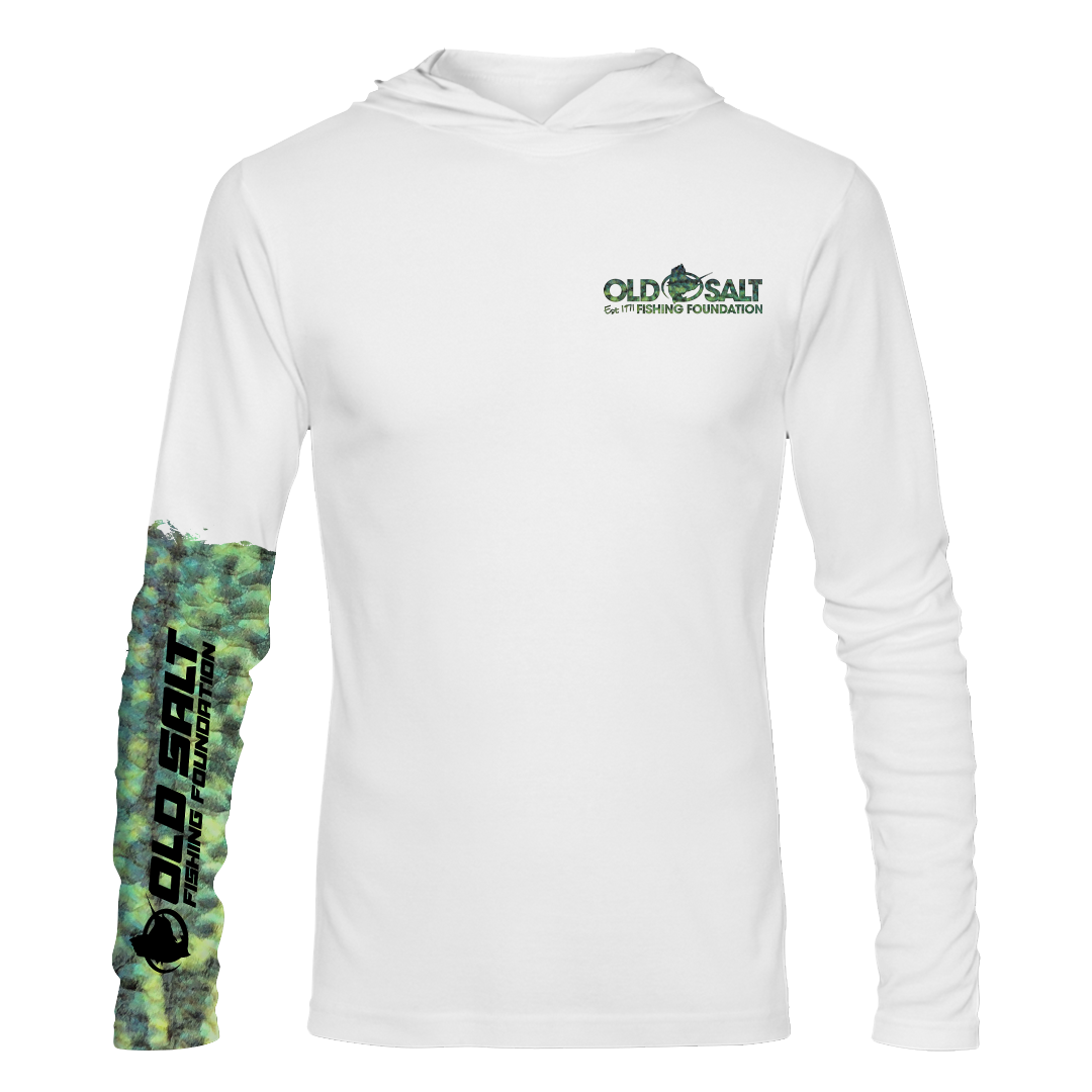 Crappie Long Sleeve Hooded Performance Shirt
