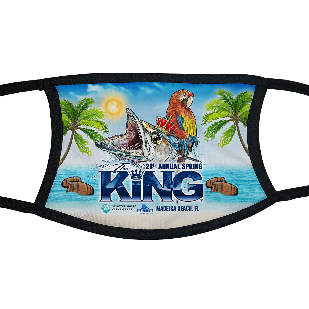 The KING - Spring 2021 - Tournament Face Mask