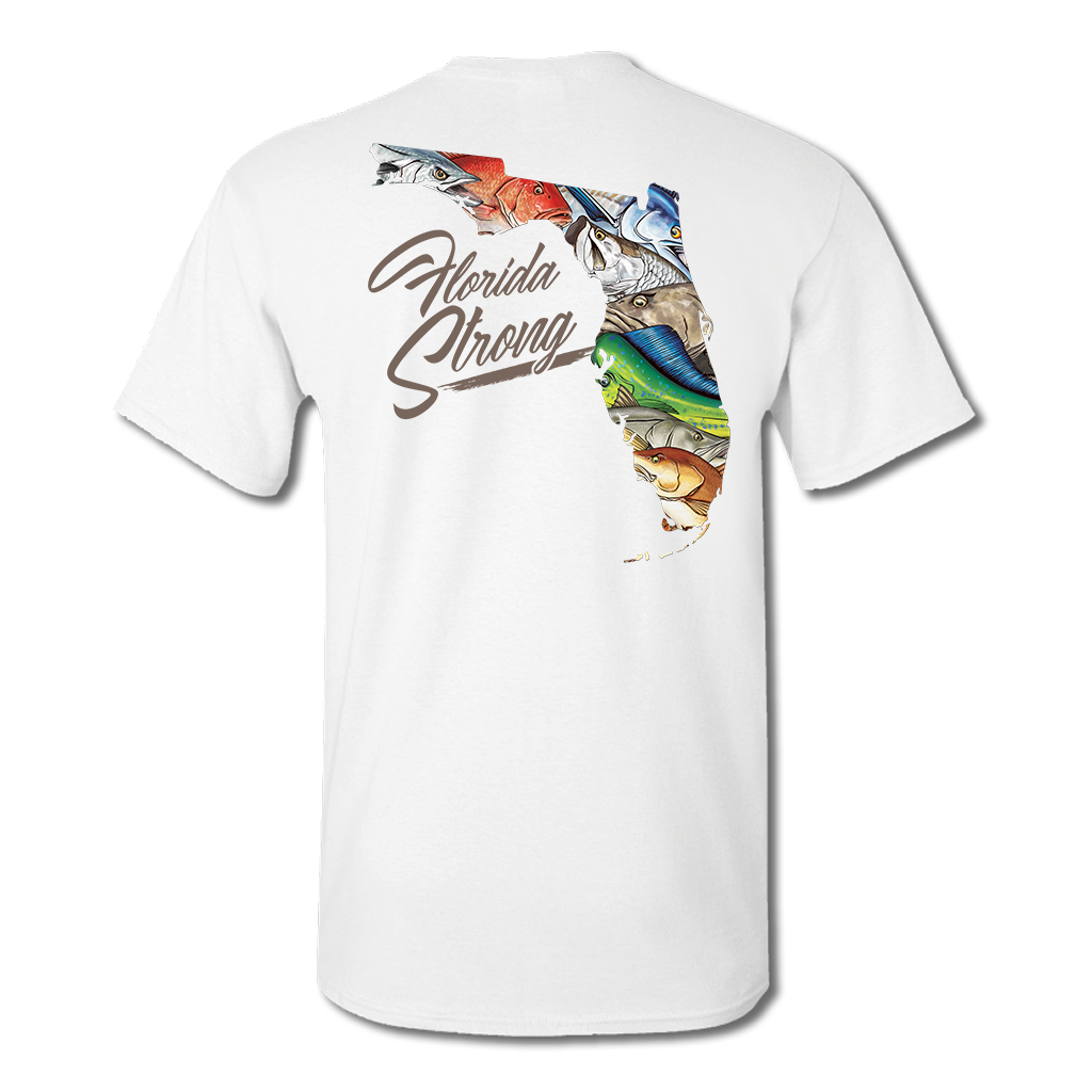 Youth Florida Strong Poly-Cotton Blend Tee