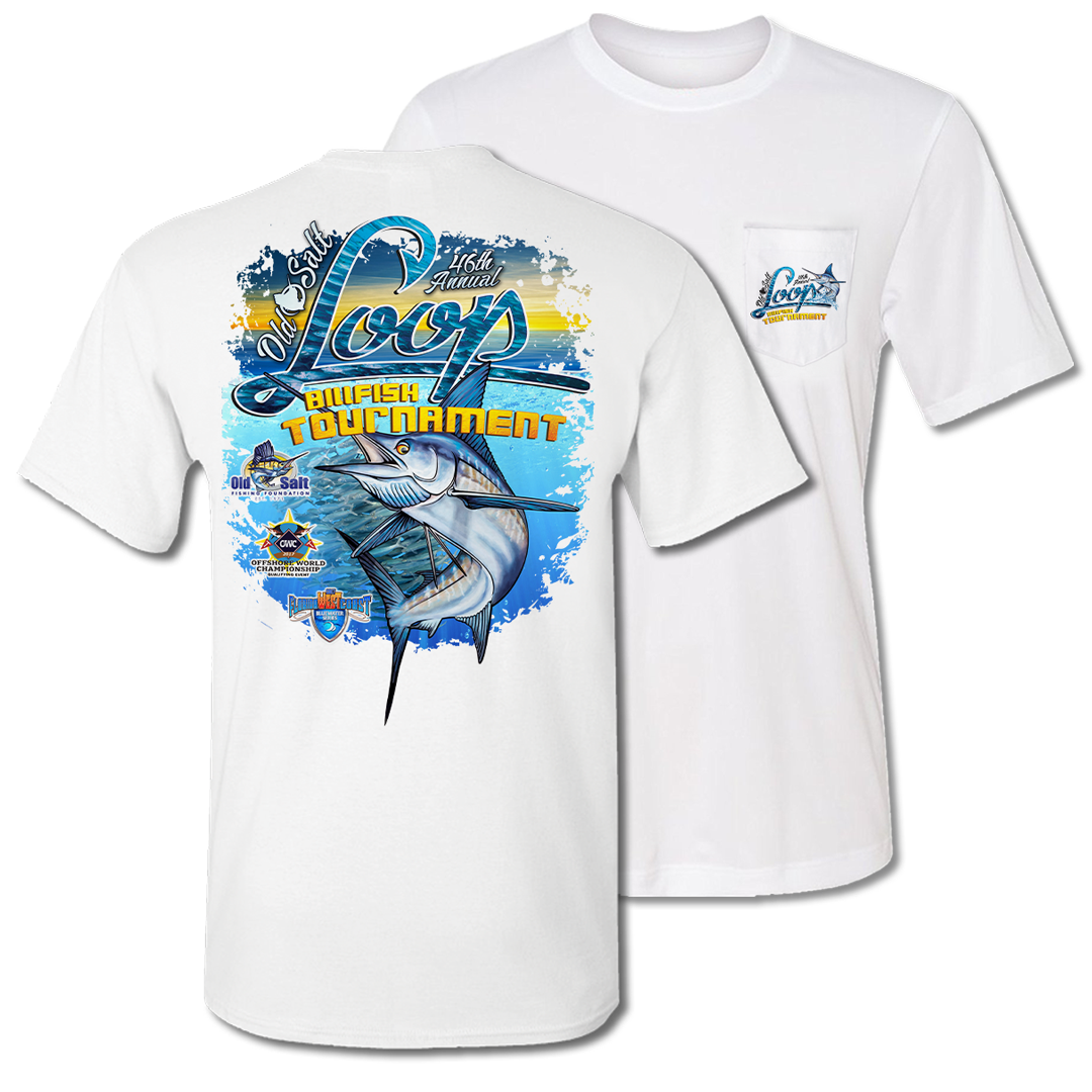 2017 LOOP Billfish Tournament Pocket Tee