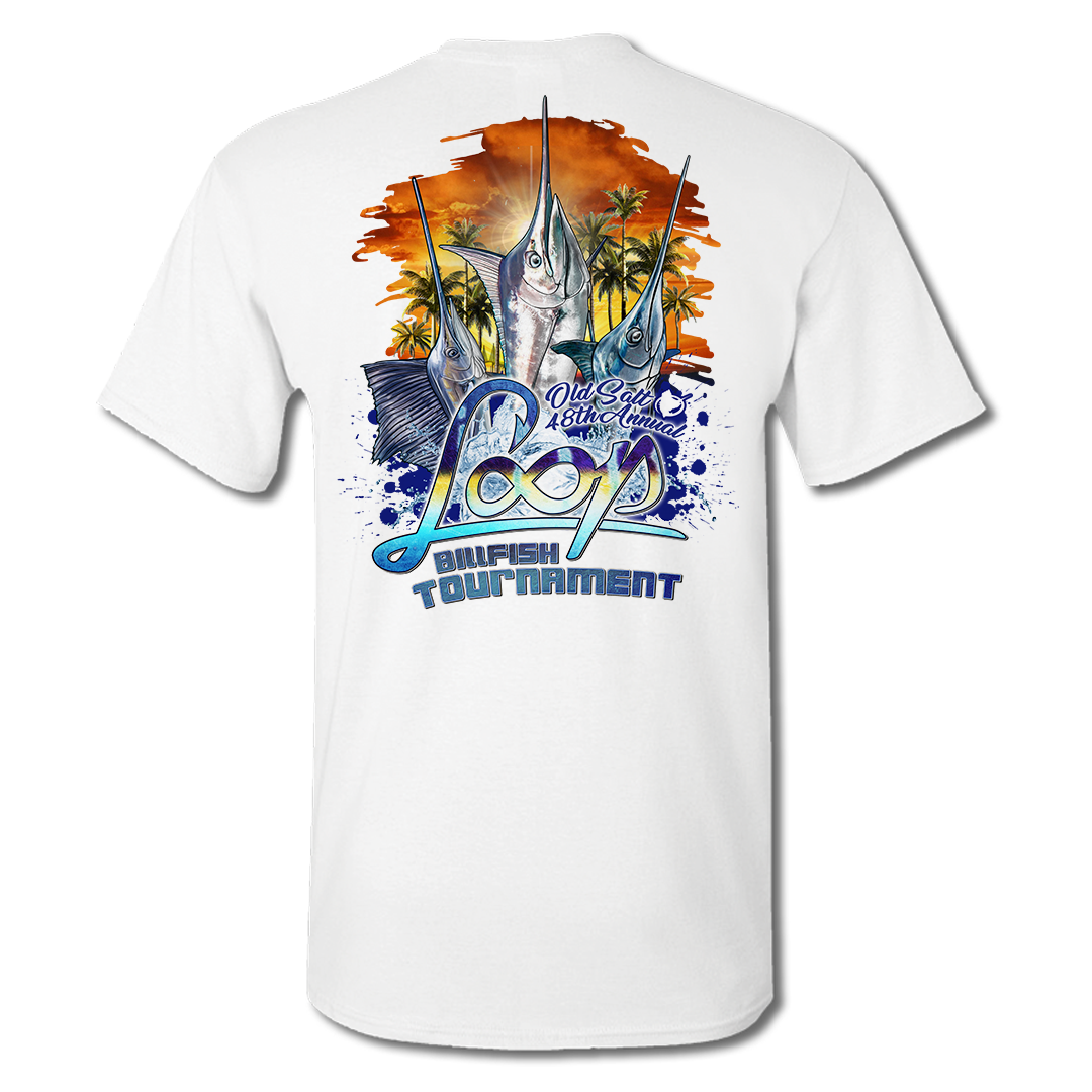 2019 LOOP Billfish Tournament Pocket Tee