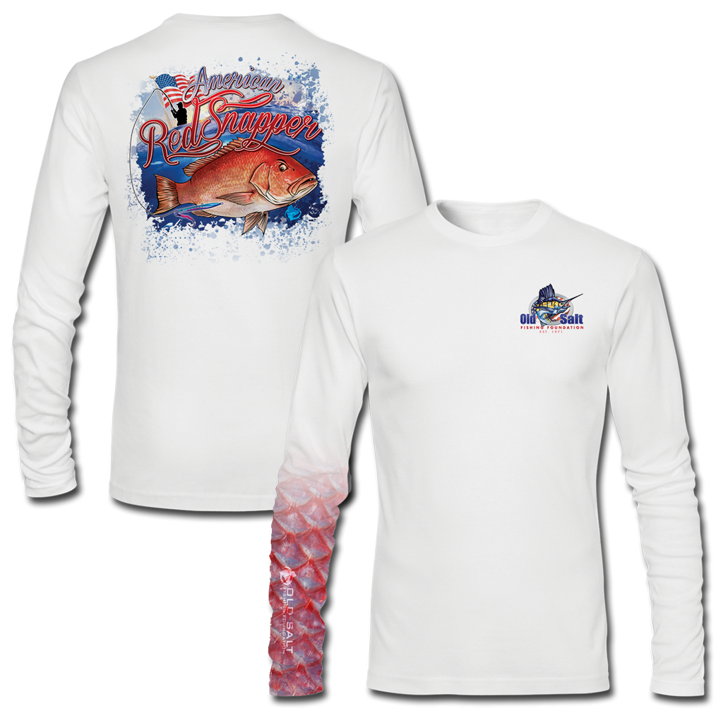 'Merican Red Longsleeve Performance Shirt