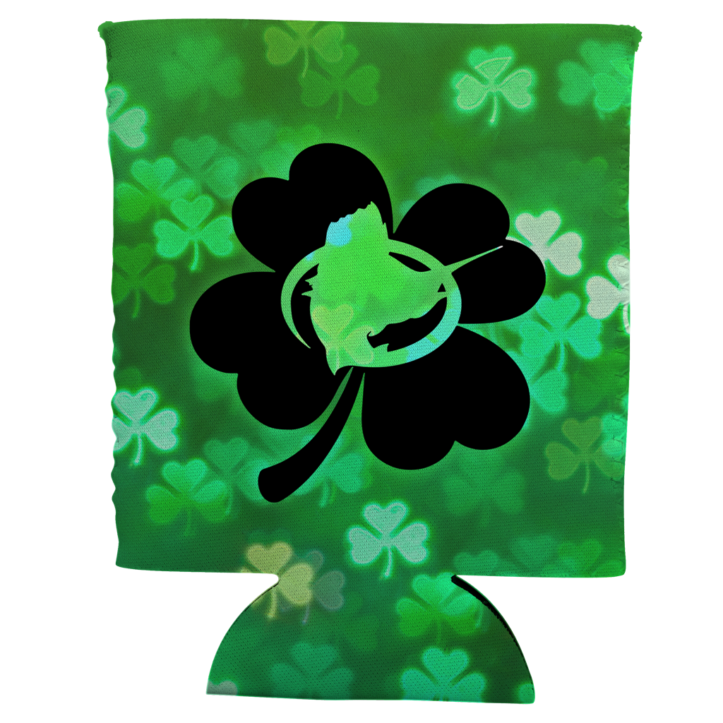 Lucky Shamrock Can Koozie