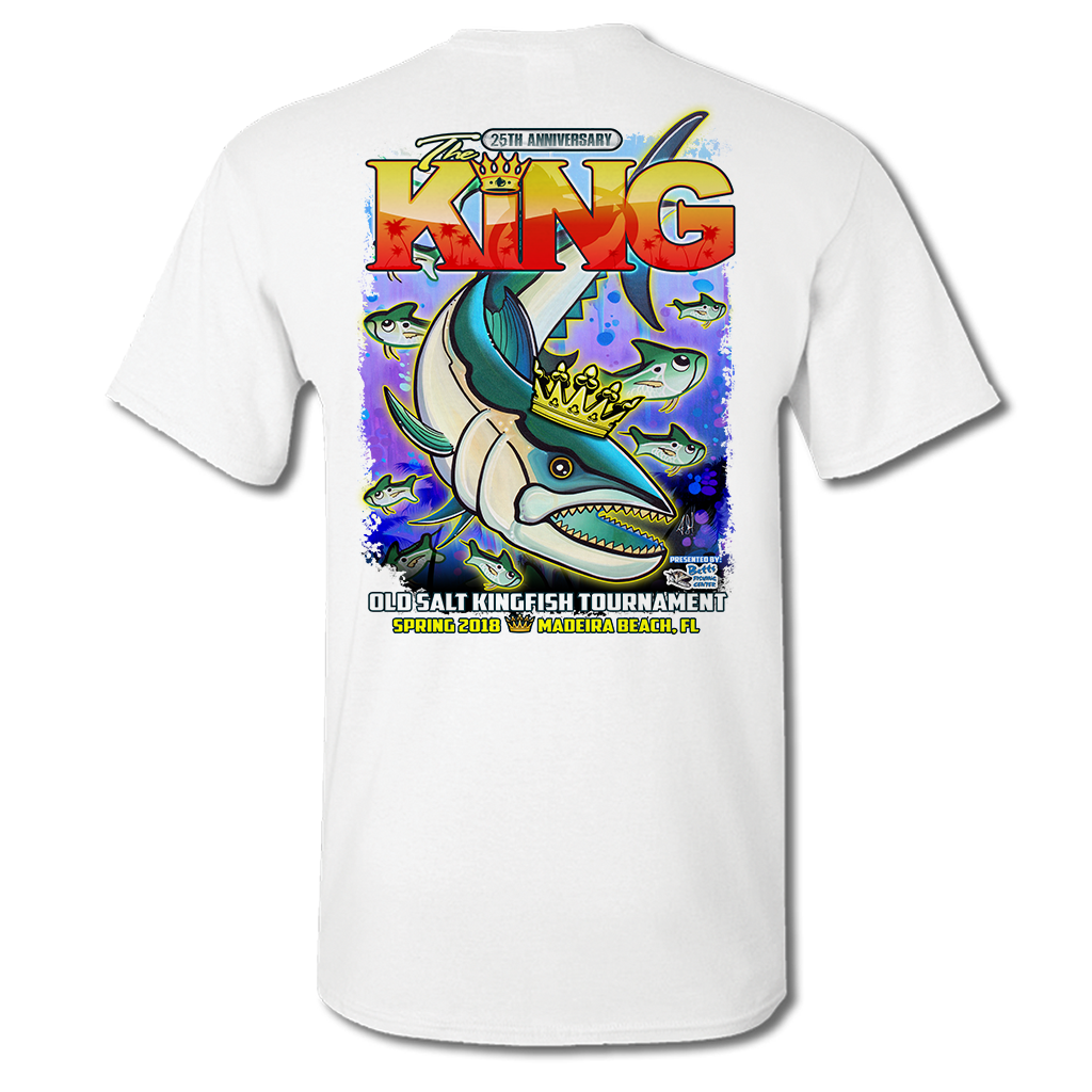The King - Short Sleeve Cotton Shirt