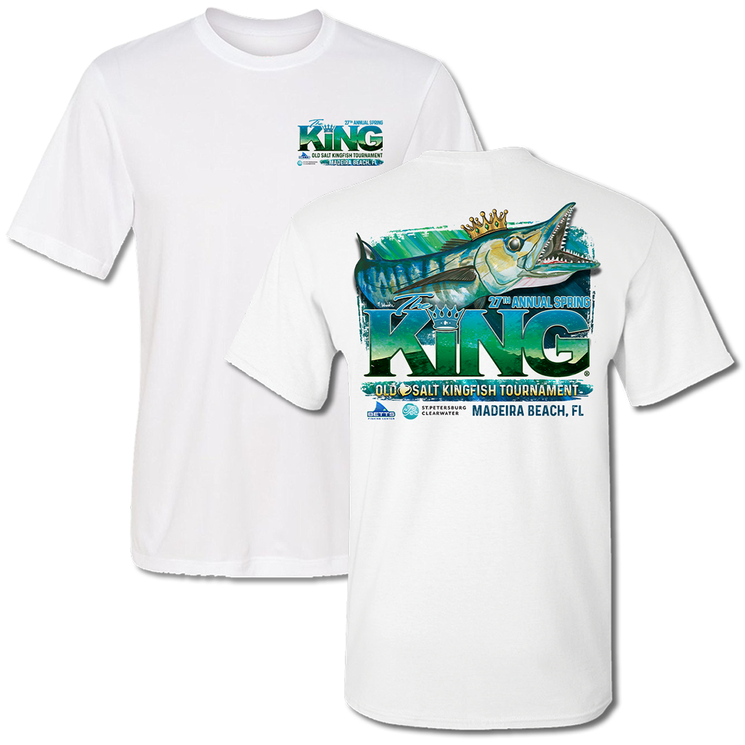 The KING - Spring 2020 Short Sleeve - Performance - Fishing Tournament T-Shirt