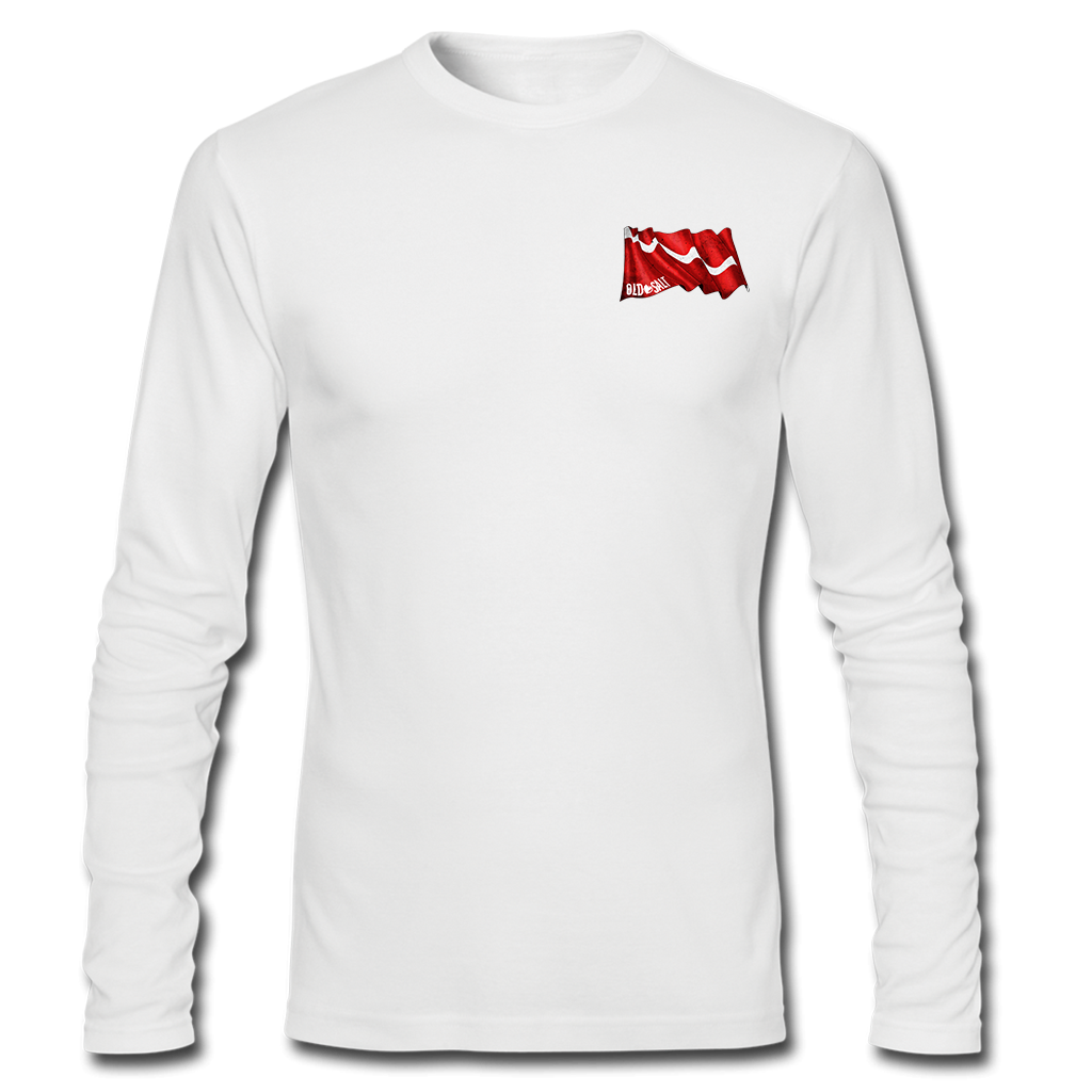 Spiny Lobster Long Sleeve Performance T Shirt