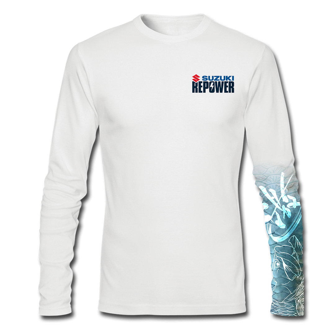 Suzuki Repower Inshore - Long Sleeve Performance Fishing T-Shirt