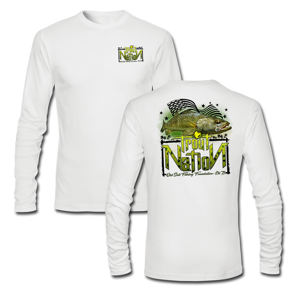 Trout Nation Long Sleeve Performance T-Shirt