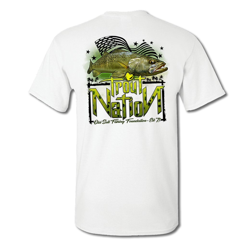 Trout Nation Short Sleeve Performance T-Shirt