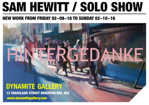 SAM HEWITT SOLO EXHIBITION