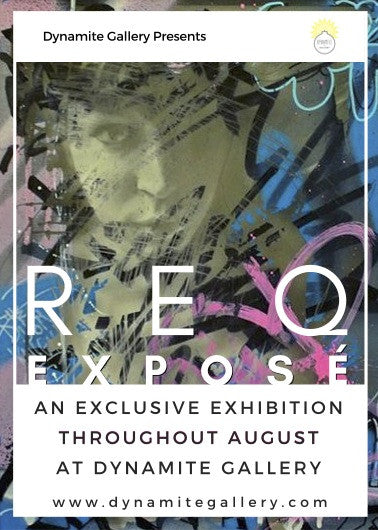 REQ Solo Show Throughout August