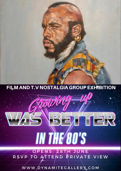80's Film & T.V Nostalgia Group Exhibition