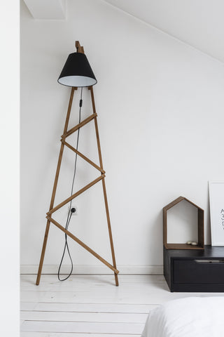 Paladim Design Featured in Nash Dom Magazine, Big Ferm floor lamp
