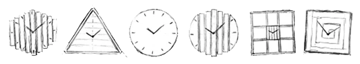 wall clocks collection by paladim