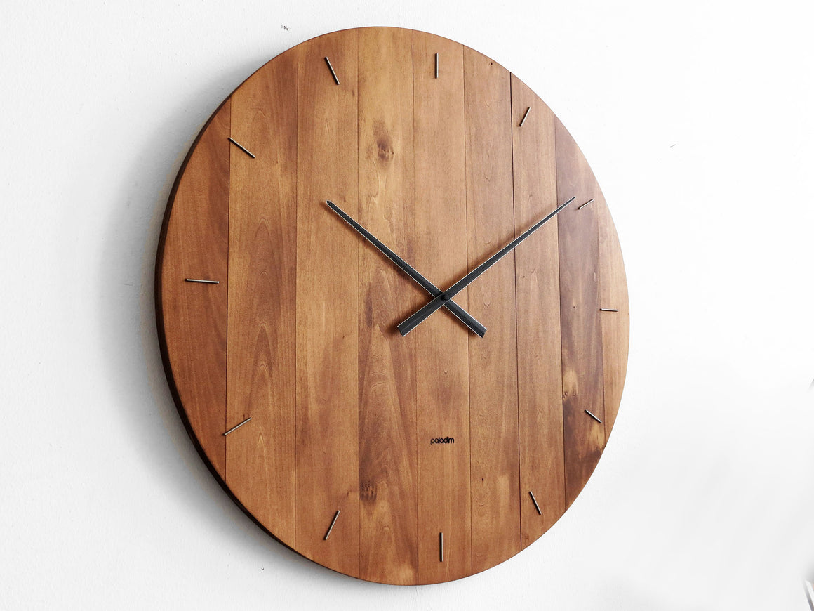 "Giant OVAL 60cm/24"" wall clock"