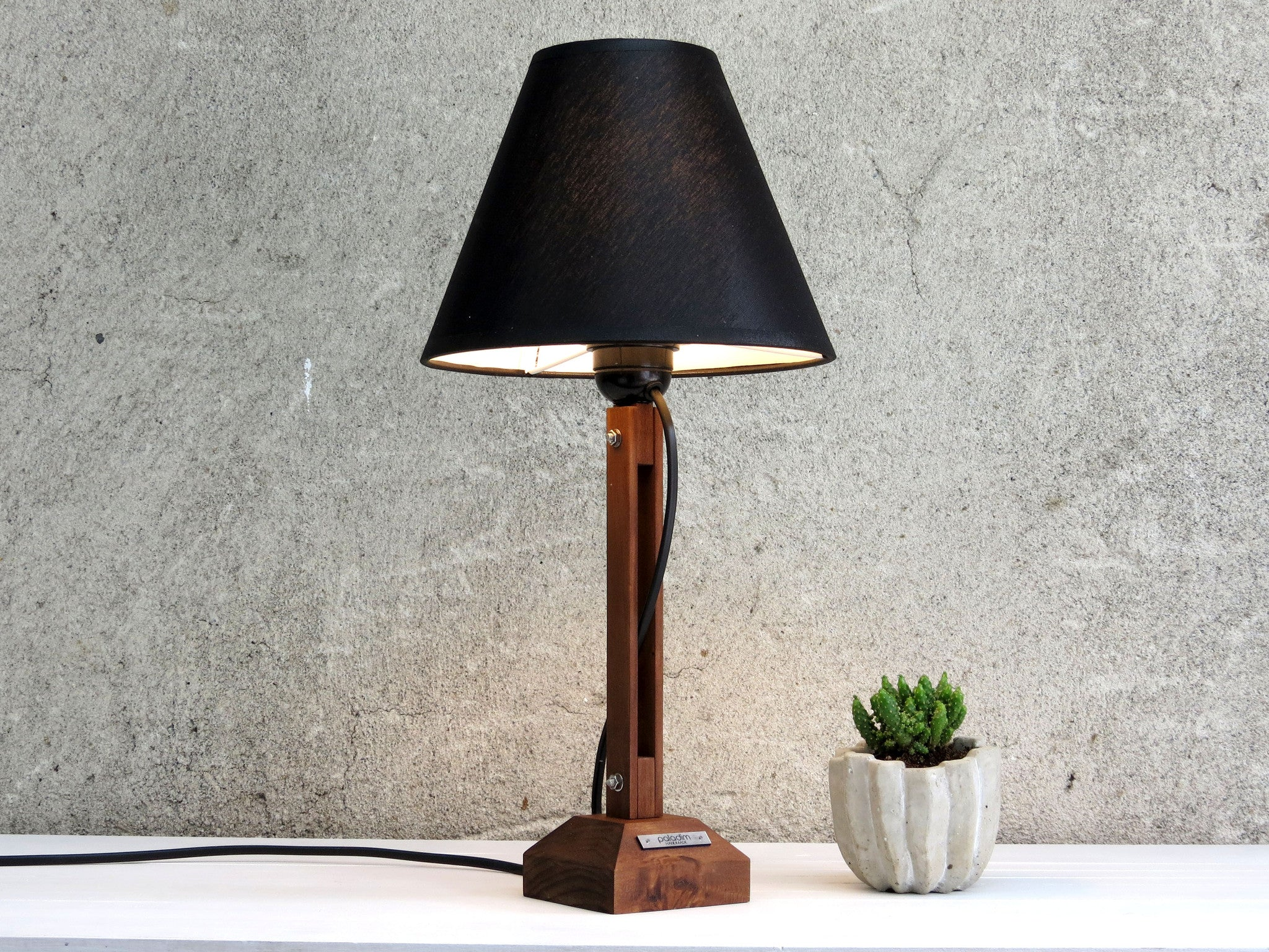 Koll i wooden table lamp paladim handmade koll i wooden table lamp paladim handmade geotapseo Choice Image