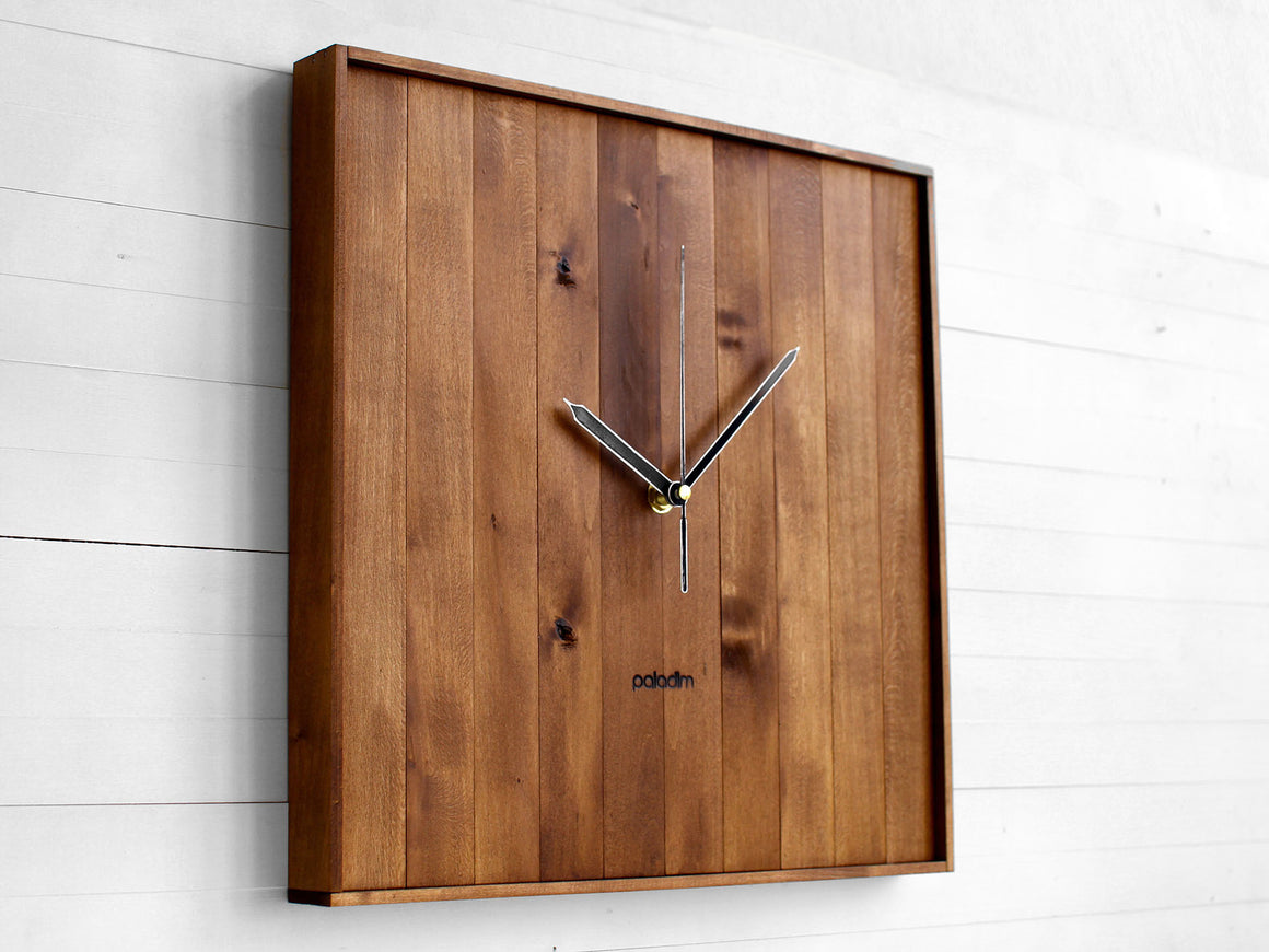 PRAF square wall clock