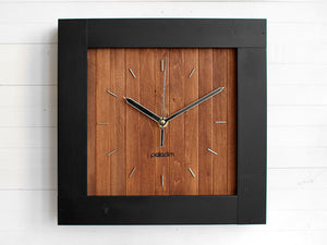 PRAF-XV geometric wall clock