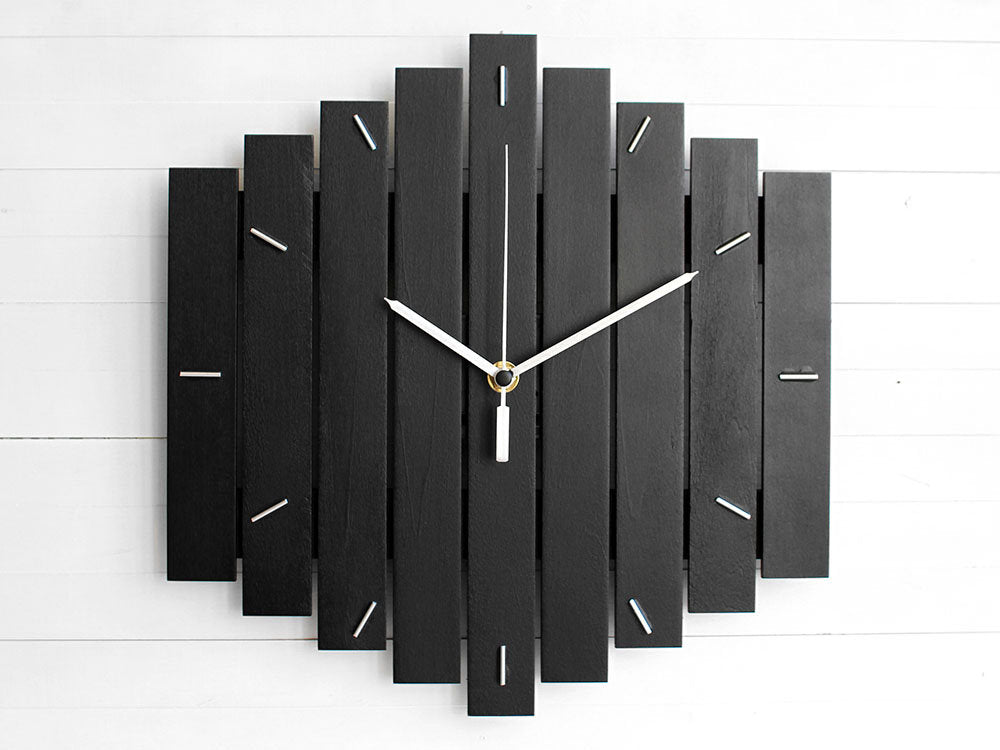 ROMB geometric wall clock